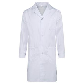 Allthemen Men's Hospital Gowns Long Sleeves Antibacterial Health Overalls