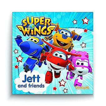 Super Wings - Jett and Friends - 9781913072032 Book