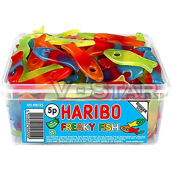 Haribo Freak Fish (120) Piezas 1020g