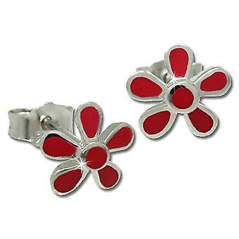 Teenie Weenie SDO209R - Children's lobe earrings - sterling silver 925