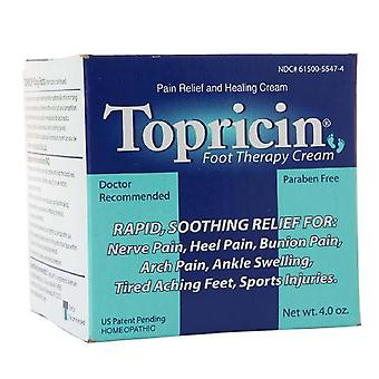 Topricin foot therapy cream, 4 oz
