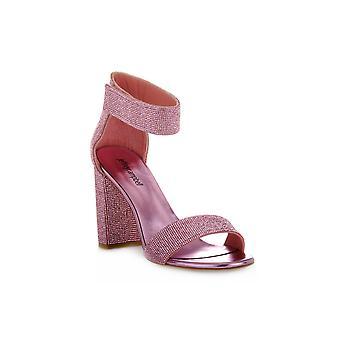 Jeffreycampbell lindsday pink combo sandals