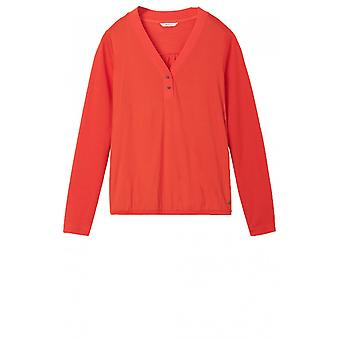 Sandwich Clothing Red Clay Top