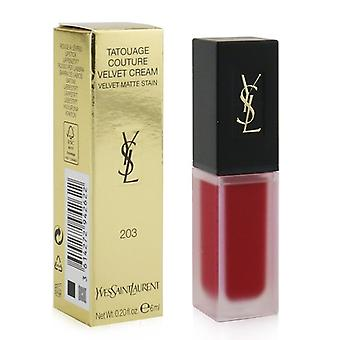 Yves Saint Laurent Tatouage Couture samt Creme samt Matt Fleck - 203 Rose Dissident - 6ml/0,2 Unzen