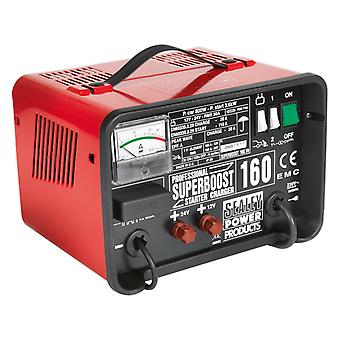 Sealey Superboost160 Starter/Charger 160/40Amp 12/24V 230V