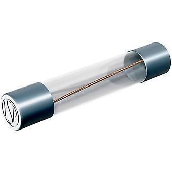 Püschel FSUF10,0B Mikrosäkring (Ø x L) 6,3 mm x 32 mm 10 A 60 V Snabbrespons -F- Innehåll 10 st