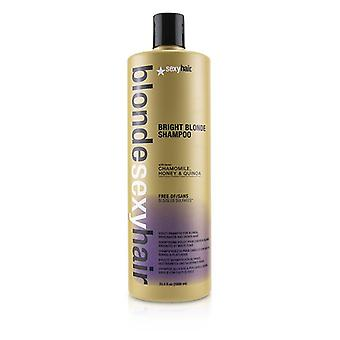 Blonde Sexy Hair Bright Blonde Violet Shampoo (for Blonde Highlighted And Silver Hair) - 1000ml/33.8oz