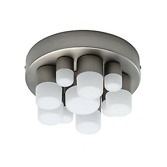 Techno Silver Ceiling Lamp Diameter 20 Cm