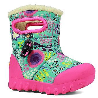 Bogs B-Moc Reef Kids Insulated Boot Mint Green Multi