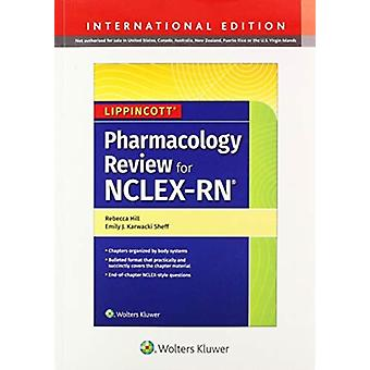 NclexRN Pharmacology Review Int Ed PB by Rebecca Hill