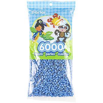Perler Beads 6,000/Pkg-Light Blue