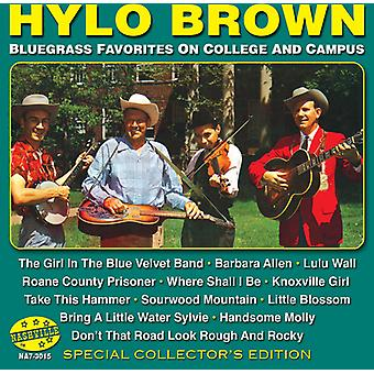 Hylo Brown - Bluegrass Favorites [CD] USA import
