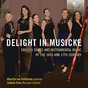 Byrd / Veldhoven / Sene - Delight in Musicke [CD] USA import
