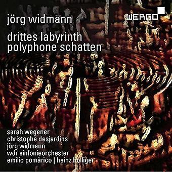 Widmann - Drittes Labyrinth / Polyphone Schatten [CD] USA import