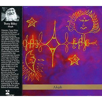 Terry Riley - Terry Riley: Importación de los E.e.u.u. Aleph [CD]