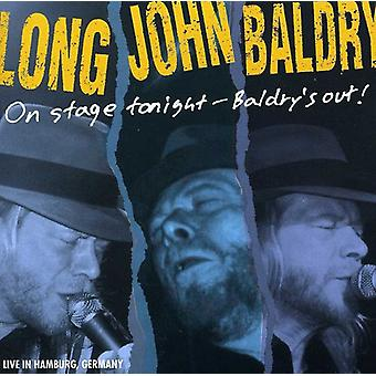 Long John Baldry - On Stage Tonight-Baldry's Out! [CD] USA import