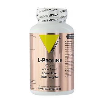 L-Proline 750 mg 100 vegetable capsules