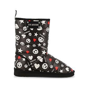 אהבה מושלנו-נעליים-קרסול מגפיים-JA24203H08JK_0000-גברות-שחור, לבן-EU 41