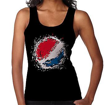 Pepsi Paint Splash logo naisten liivi