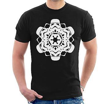 Star Wars Natal Stormtrooper Snowflake Men 's T-Shirt