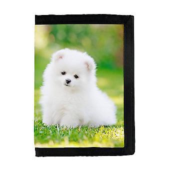 Pomeranian Puppy Wallet
