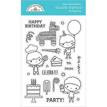 Doodlebug Design Geburtstag junge Doodle Briefmarken