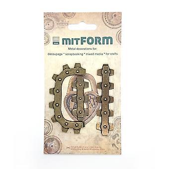 Mitform Frame 4 Metal Embellishments
