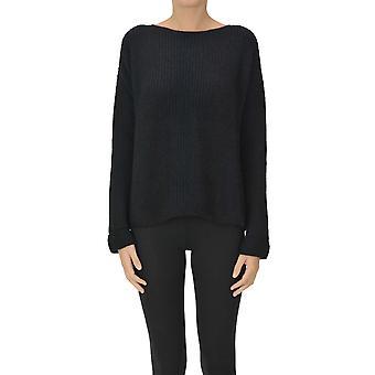 Base Milano Ezgl264057 Women's Blue Wool Sweater