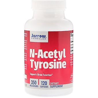 Fórmulas De Jarrow, N-acetil tirosina, 350 mg, 120 Cápsulas