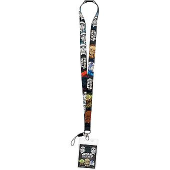 Lanyard - Star Wars - with Card Holder New 28184