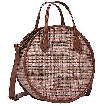 Joules Damen Fulbrook Runde Mini Tweed Handtasche