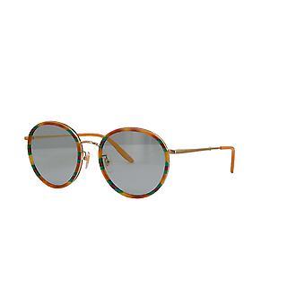 Gucci GG0677SK 004 Havana/Blue Sunglasses