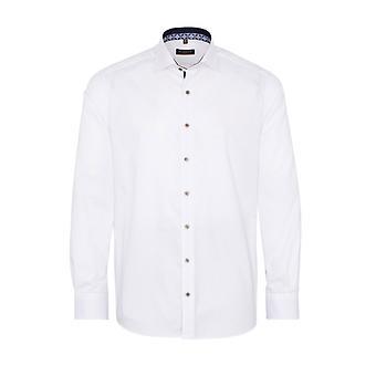Eterna Casual Eterna 1863 Modern Fit Long Sleeved Shirt White