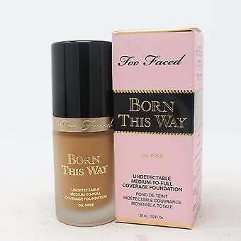 Too Faced Born This Way Oil-Free Foundation 1.0oz/30ml New In Box