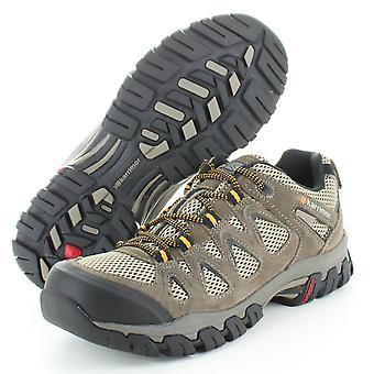 Karrimor Mens Aerator Breathable Suede Dynagrip Hiking Walking Shoes