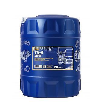 Mannol TS-3 SHPD Huile de moteur minéral 20 L 10W-40 Acea E3/A3/B3 Volvo VDS-2