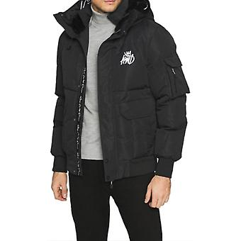Kings Will Dream Milford Puffa Bomber Jacket Black 74