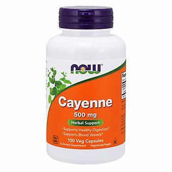 Nyt Foods Cayenne, 500 mg, 100 korkkia
