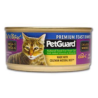 PetGuard-kissanruoka, Premium-juhlaillallinen 5,5 unssia