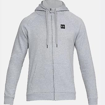 Under Armour Rival Fleece FZ Hoodiegry 1320737036 universal all year men sweatshirts