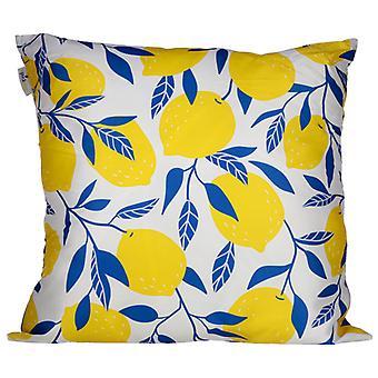 Cushion with Insert - Lemons Design 50 x 50cm