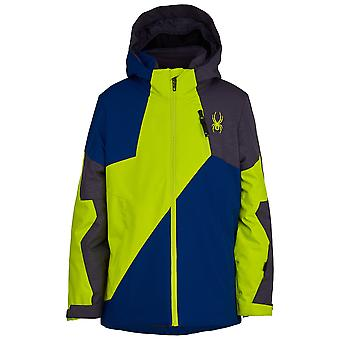 Spyder AMBUSH Boys Repreve PrimaLoft Ski Jacket abyss