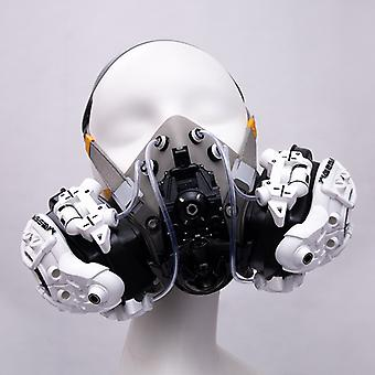 Cyberpunk Style Messenger Entertainment Mask (can Be Used In Combination With Medical Masks)