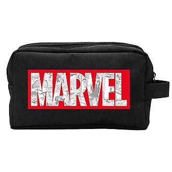 Marvel Comics Logo Musta Matkapesupussi