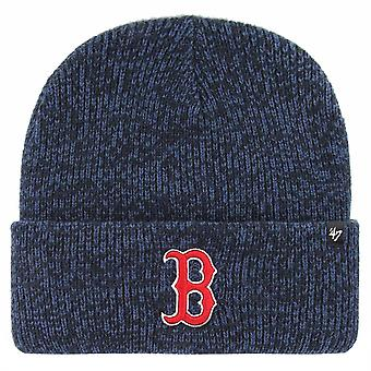 47 Brand Boston Red Sox Brain Freeze Cuff Knit Beanie - Navy