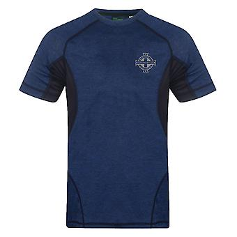 Northern Ireland Mens T-Shirt Poly Tech Training Kit OFFICIAL Football Gift