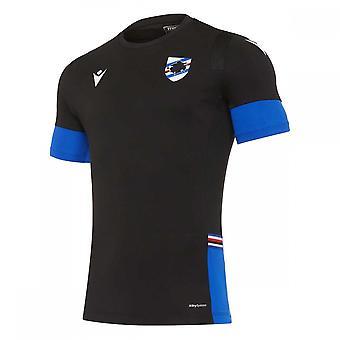 2020-2021 Sampdoria Camisa de Entrenamiento (Negro)