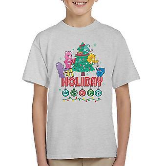 Care Bears Unlock The Magic Christmas Holiday Cheer Kid's T-Shirt