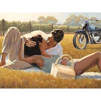 Печать плаката снимок пикник по Майлс Салливан