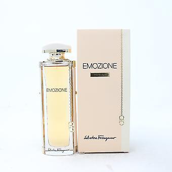 Emozione by Salvatore Ferragamo Eau De Parfum 1.7oz/50ml Spray New With Box